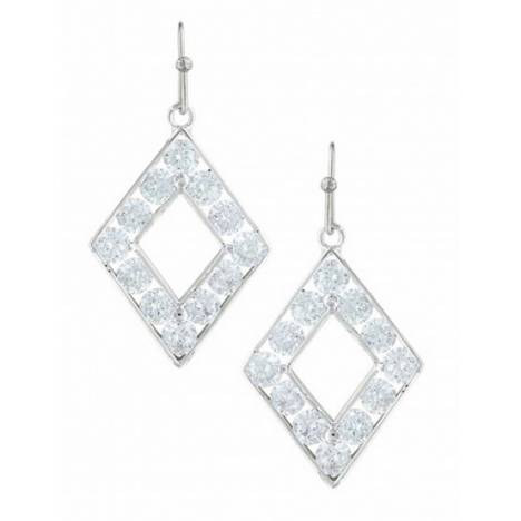 Montana Silversmiths Diamond Brand Cubic Zirconia Earrings