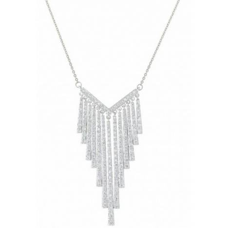 Montana Silversmiths Chandelier Chevron Cubic Zirconia Necklace