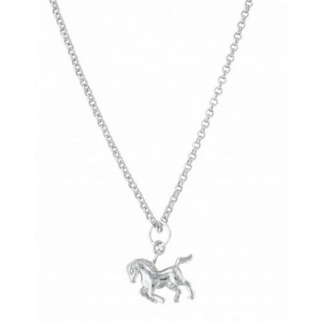Montana Silversmiths Cowboy Way Horse Necklace