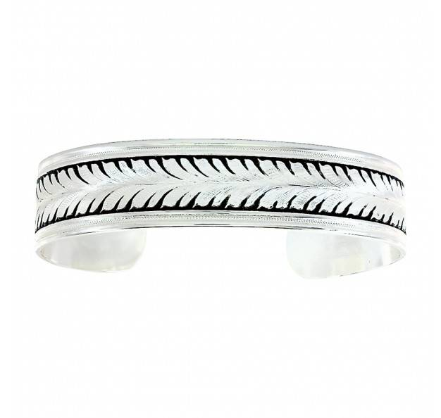 Montana Silversmiths Ray Of Wheat Cuff Bracelet