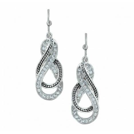 Montana Silversmiths Wrapped Up In You Twisted Dangle Earrings