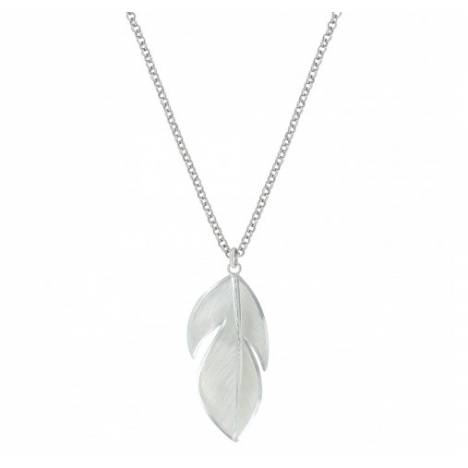 Montana Silversmiths Wide Floating Feather Necklace