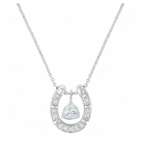 Montana Silversmiths Treasured Trillion Sparkling Necklace