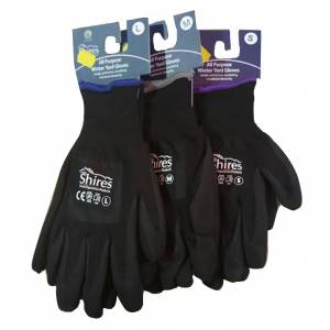 Shires Winter All Purpose Yard Gloves