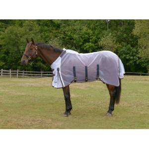 Shires Highlander Fine Mesh Fly Sheet/Neck Set