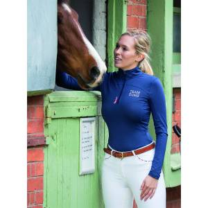 Shires Ladies Team Long Sleeve Base Layer