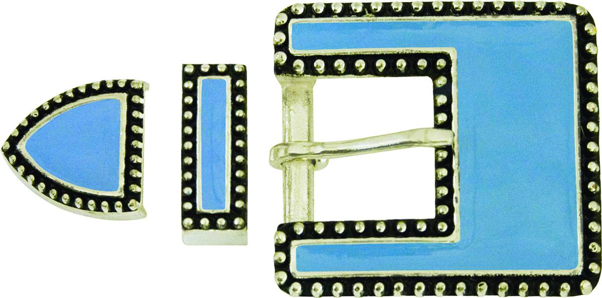 Action Enamel Buckle Set