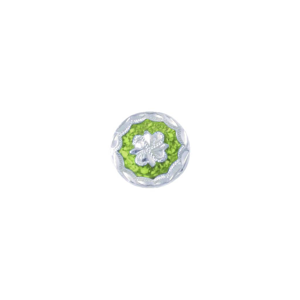 Action Colored Floral Chicago Screw Concho