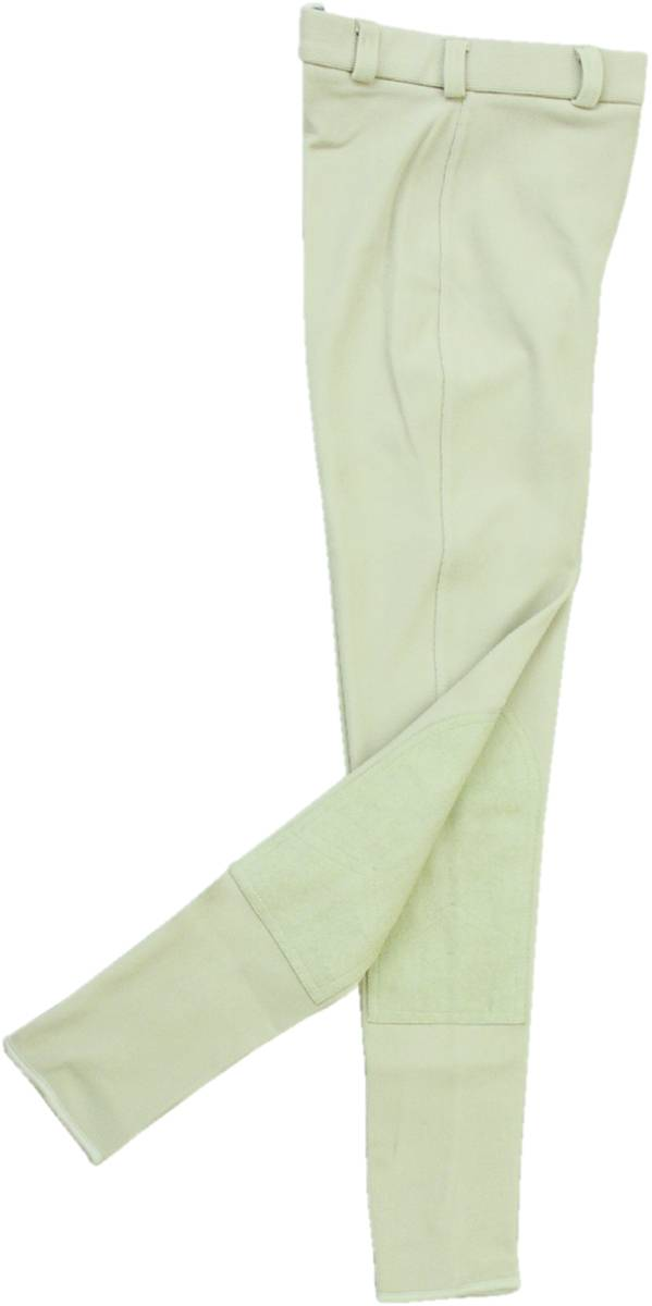 Action Clarino Knee Patch Breech Ladies Beige