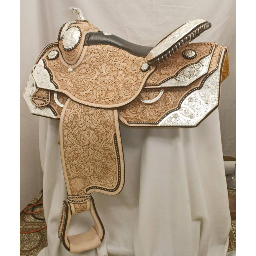 Action Silver Champion Saddle