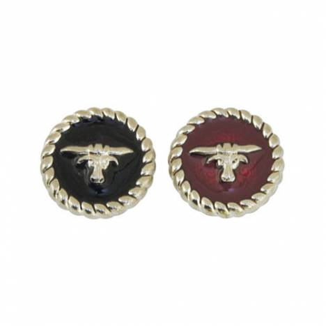 Action Silver Longhorn Concho
