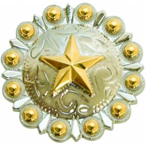 Action Texas Star Two Tone Concho