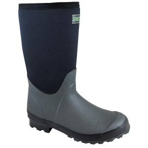 Smoky Mountain Amphibian Slip On Boots - Youth - Green/Black
