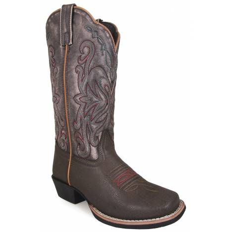Smoky Mountain Fusion 2 Square Toe Boots - Ladies - Brown/Vintage Black