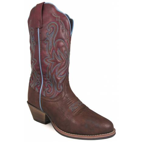 Smoky Mountain Altona Western Boots - Ladies - Brown/Rust