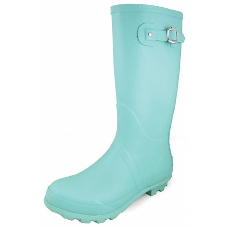 "Smoky Mountain 13"" Rubber Boots - Ladies - Turquoise"