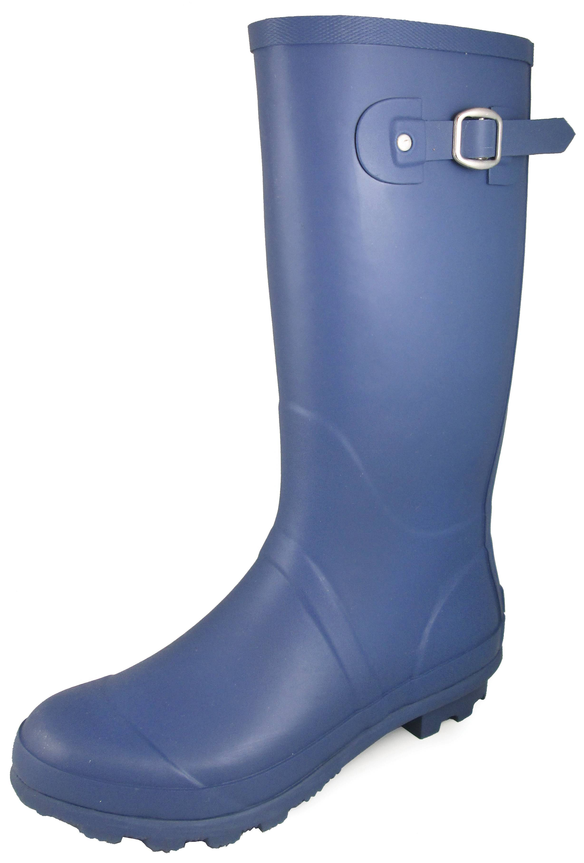 Smoky Mountain 13-inch Rubber Boots - Ladies - Blue