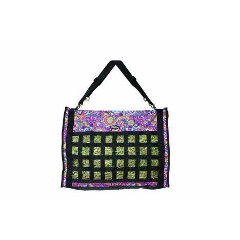 Weaver Leather Slow Feed Hay Bag - Paisley
