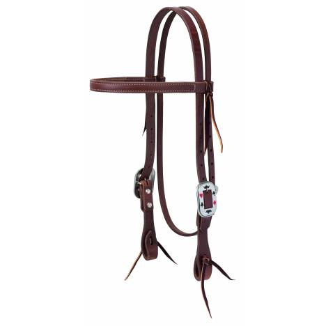 Weaver Protack Card Suite Straight Browband Headstall