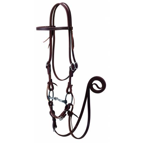 Weaver Working Tack Bridle With Ring Snaffle Bit