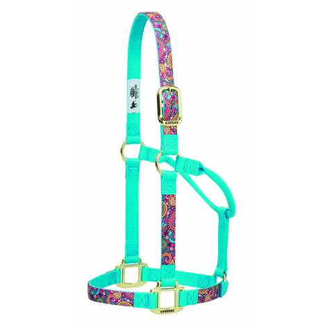 Weaver Nylon Paisley Non-Adjustable Horse Halter