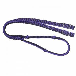 Tough-1 Knotted Cord Roping Reins