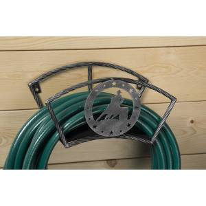 Tough-1 Hose Holder With Equine Motif - Barrel Racer