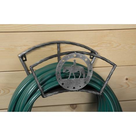 Tough-1 Hose Holder With Equine Motif - Western Pleasure
