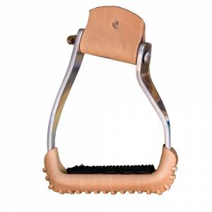 Western Aluminum Stirrups Curved Side Branches