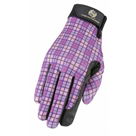 Heritage Performance Print Gloves - Plaid