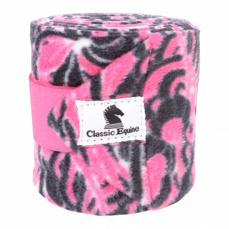 Classic Equine Polo Wraps With Wash Bags - Prints