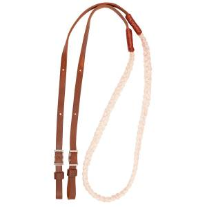 Martin Hand Braided Rope Barrel Reins