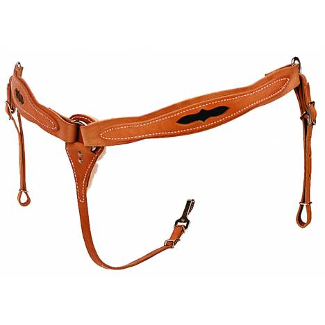 Colorado Saddlery Brown Inlaid All Around Breast Collar