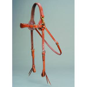Colorado Saddlery Colorado Gold Mule Headstall