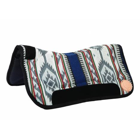 Colorado Saddlery Sage Contoured Waffled Neoprene Bottom Saddle Pad