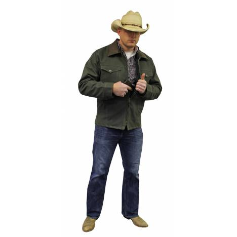 Colorado Saddlery Conceal Carry Coat - Mens - Sage Green