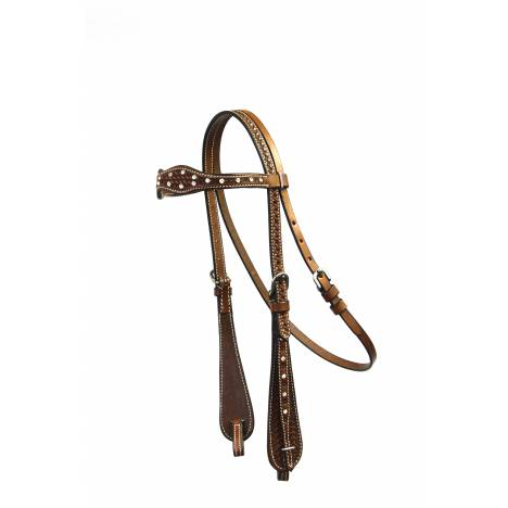 Colorado Saddlery Diamante Browband Headstall