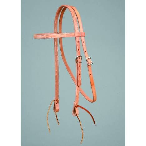 Colorado Saddlery Harness Leather Browband Headstall
