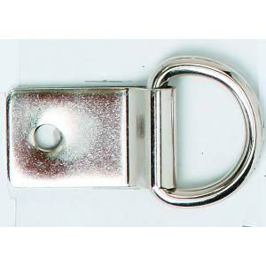 Colorado Saddlery Heavy Nickel Plated Clip & Dee