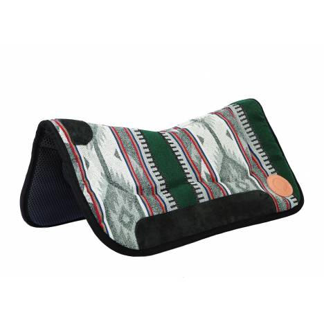Colorado Saddlery High Country Sunset Contour Waffle Neoprene Bottom Saddle Pad