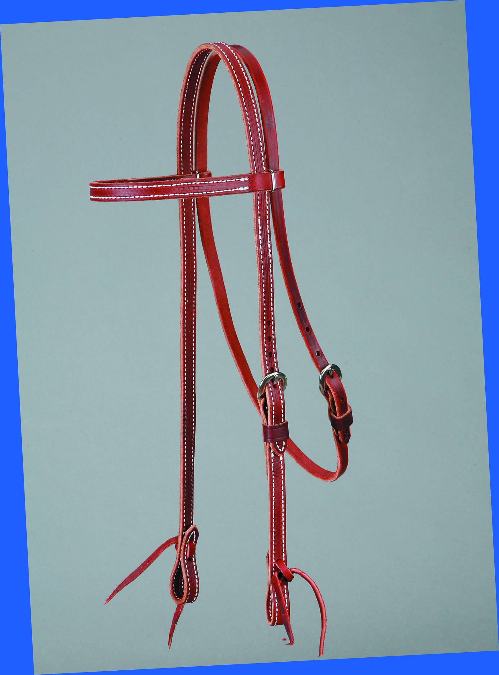 Colorado Saddlery Latigo Browband Headstall