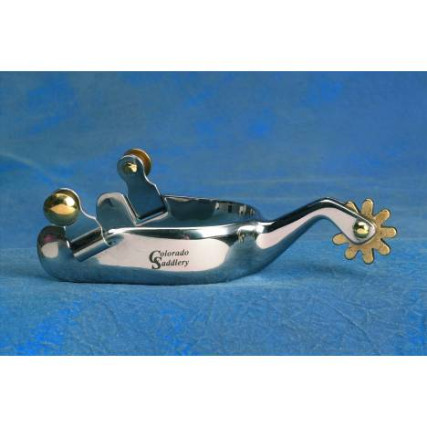 Colorado Saddlery Milk River Spurs - Ladies