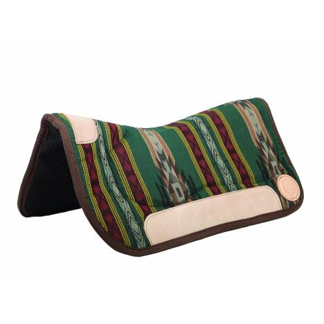 Colorado Saddlery Painted Mesa Contoured Waffled Neoprene Bottom Saddle Pad