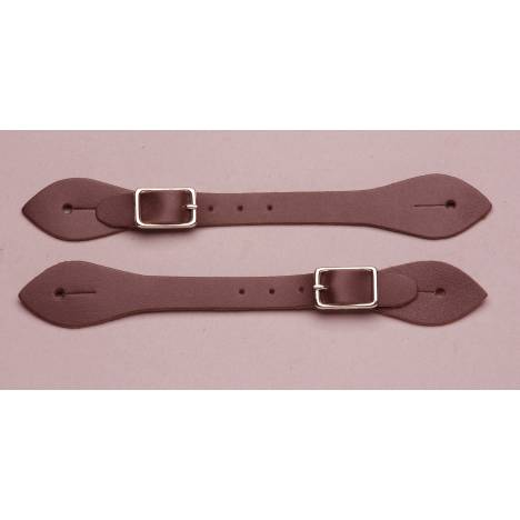 Colorado Saddlery Plain Leather Spur Straps