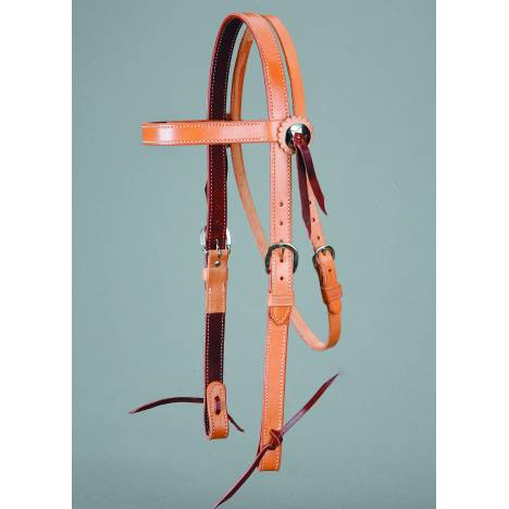 Colorado Saddlery Skirting Browband Headstall