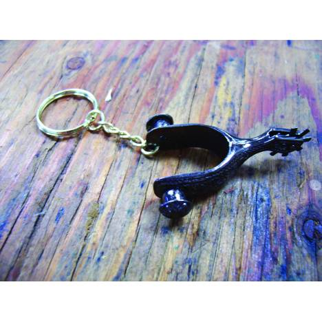 Colorado Saddlery Spurs Key Chain