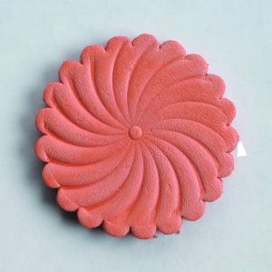 Colorado Saddlery Stamped Saddle Leather Rosette - 10 Pack