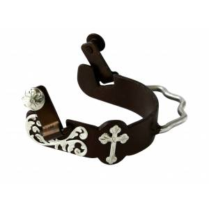Colorado Saddlery Southern Cross Bumper Spurs - Ladies