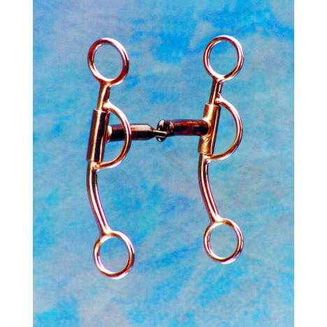 Colorado Saddlery Thick Mouth Tom Thumb Snaffle Bit