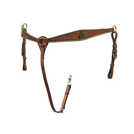 Colorado Saddlery Trinity Cross Breast Collar
